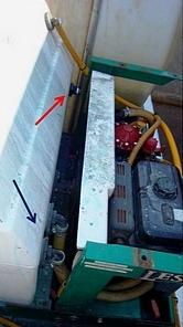Herbicide Sprayer Poor Plumbing Design