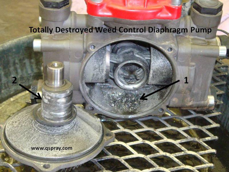 Weed Control Diaphragm Pump